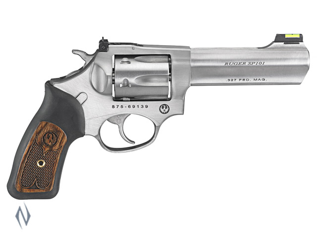 RUGER SP101 327 FED STAINLESS 6 SHOT 107MM Image