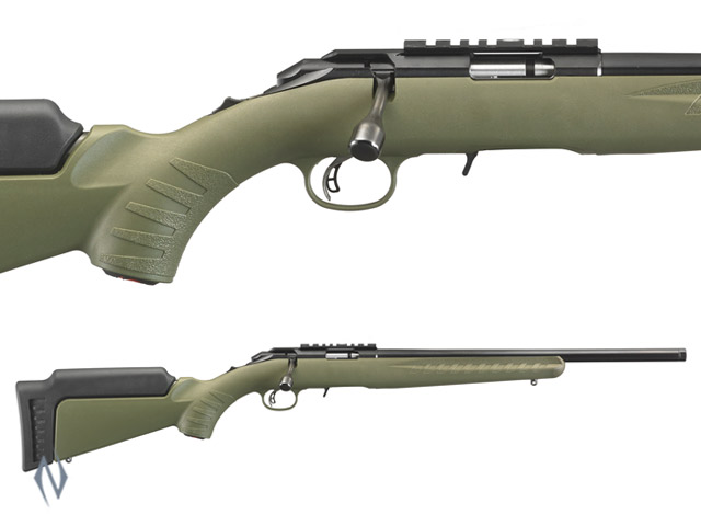 "RUGER AMERICAN RIMFIRE 22WMR 18"" OD GREEN Image"