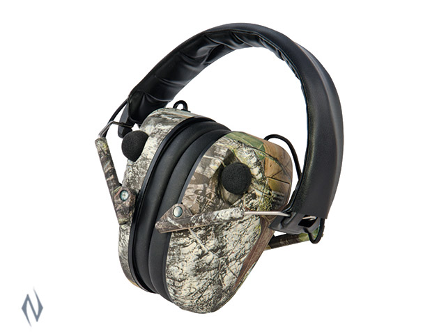 CALDWELL EMAX LOW PROFILE CAMO ELECTRONIC EAR MUFFS Image