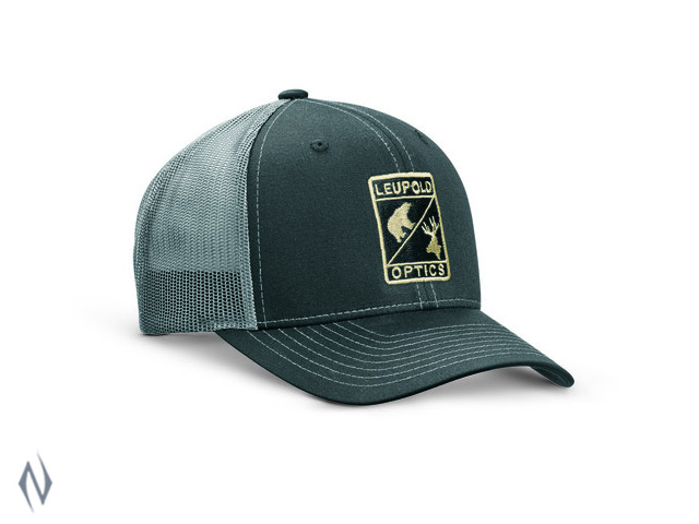 LEUPOLD L OPTIC TRUCKER CAP BLACK / CHARCOAL OS Image