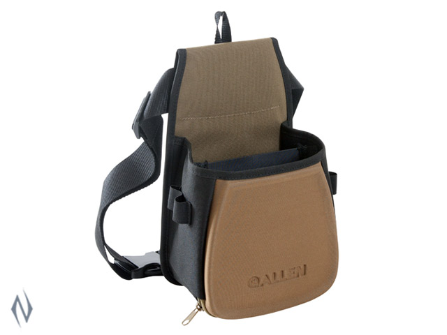 ALLEN ELIMNATOR DOUBLE SHOTSHELL BAG WITH BELT Image