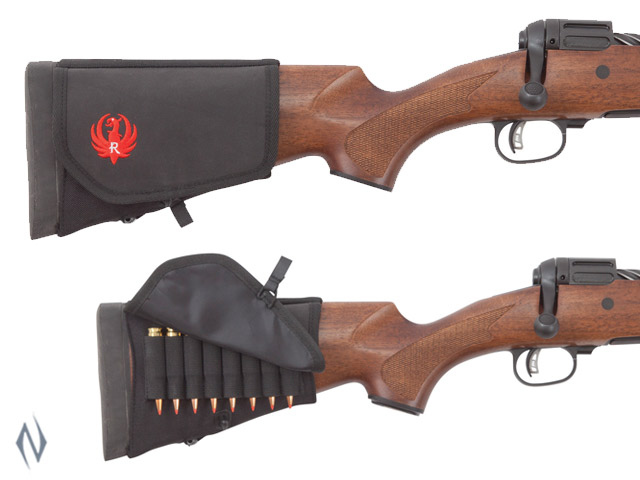 ALLEN RUGER BUTT STOCK HOLDER BLACK 8 RND Image