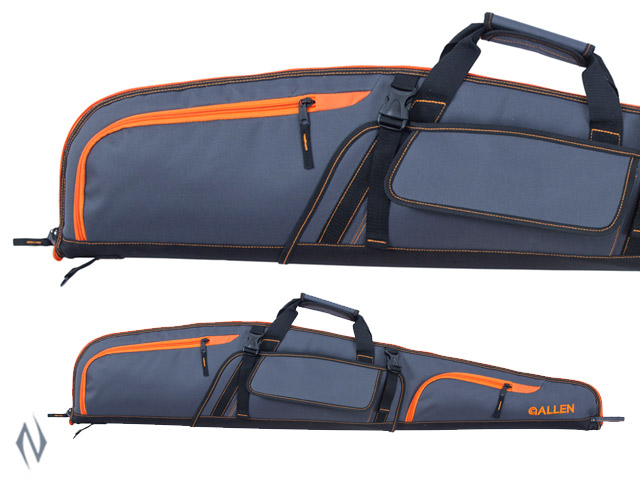 "ALLEN GEAR FIT BONANZA  RIFLE CASE GREY / ORANGE 48"" Image"
