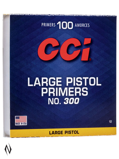 CCI PRIMER 300 LARGE PISTOL Image