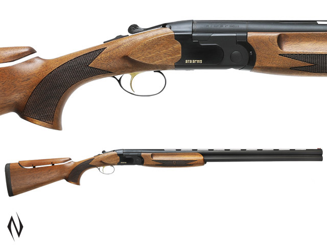 "ATA 686B 12G 30"" BLACK ADJUSTABLE SPORTING SHOTGUN Image"