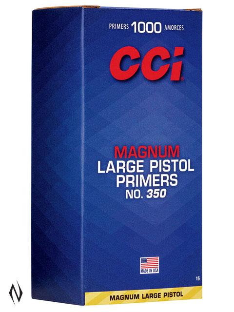 CCI PRIMER 350 LARGE PISTOL MAGNUM Image