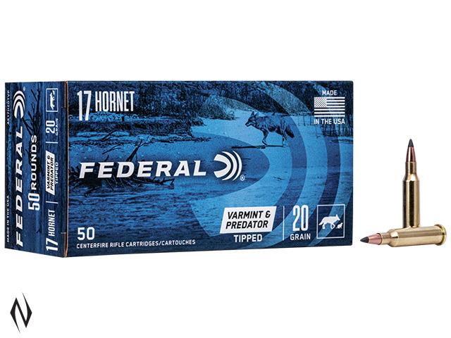 FEDERAL 17 HORNET 20GR TIPPED VARMINT AMERICAN EAGLE Image
