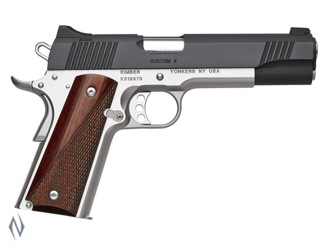 KIMBER 1911 CUSTOM II TWO TONE 9MM 127MM Image