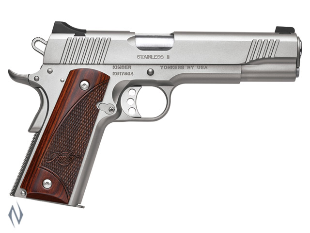 KIMBER 1911 STAINLESS II 45ACP 127MM Image