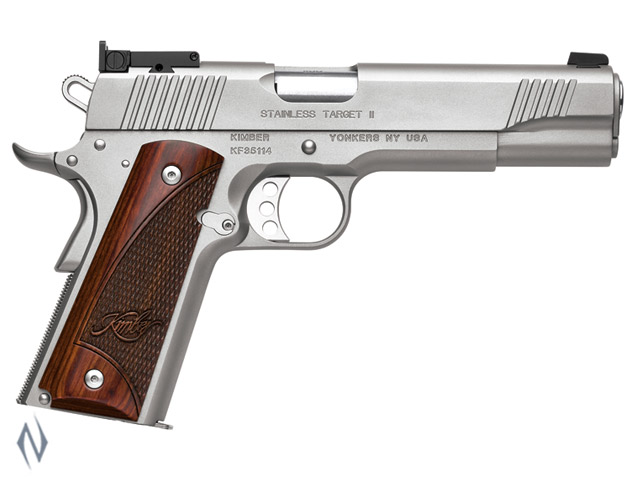 KIMBER 1911 STAINLESS TARGET II 9MM 127MM Image