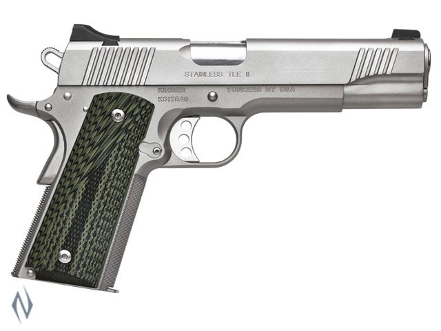 KIMBER 1911 STAINLESS TLE II 45ACP 127MM Image
