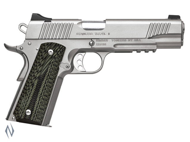 KIMBER 1911 STAINLESS TLE RL II 45ACP 127MM Image