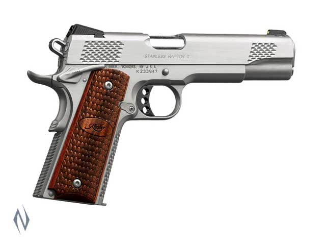 KIMBER 1911 STAINLESS RAPTOR II 9MM 127MM Image