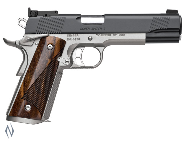 KIMBER 1911 SUPER MATCH II 45ACP 127MM Image