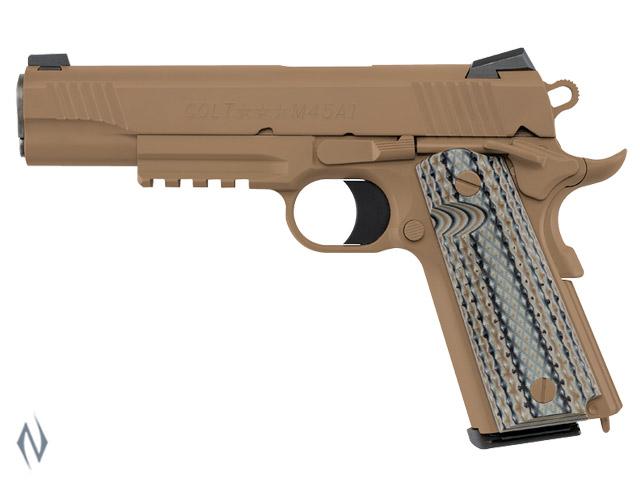 COLT 1911 RAIL GUN M45A1 45 ACP 127MM Image