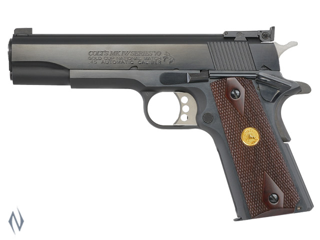 COLT SERIES 70 GOLD CUP NM BLUED 45 ACP 127MM Image