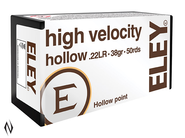 ELEY 22LR HIGH VELOCITY HP 1250FPS Image