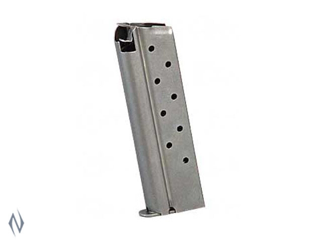 COLT 1911 10MM MAGAZINE STAINLESS STEEL 8 RD Image