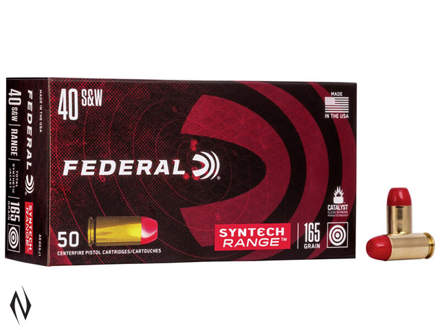FEDERAL 40 S&W 165GR TSJ SYNTECH JACKET AMERICAN EAGLE Image