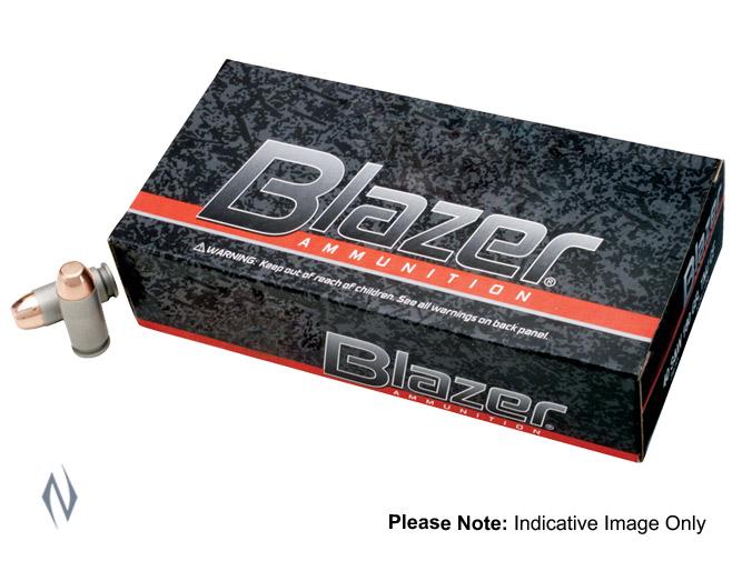 BLAZER 9MM LUGER 124GR FMJ Image