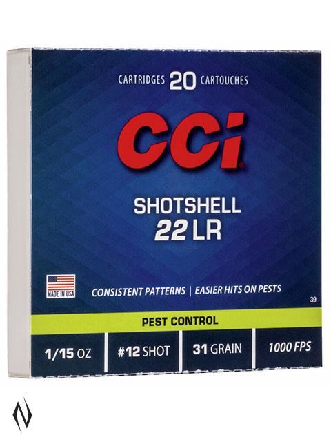CCI SHOTSHELL 22LR 20 PK Image