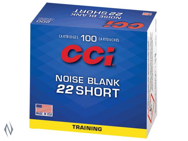 CCI 22 SHORT NOISE BLANK 100 PK Image