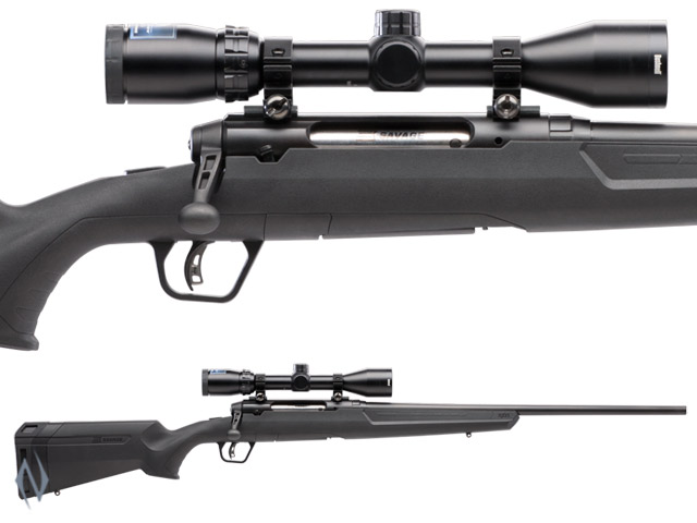 "SAVAGE AXIS II XP BLUED PACKAGE 22"" 4 SHOT Image"