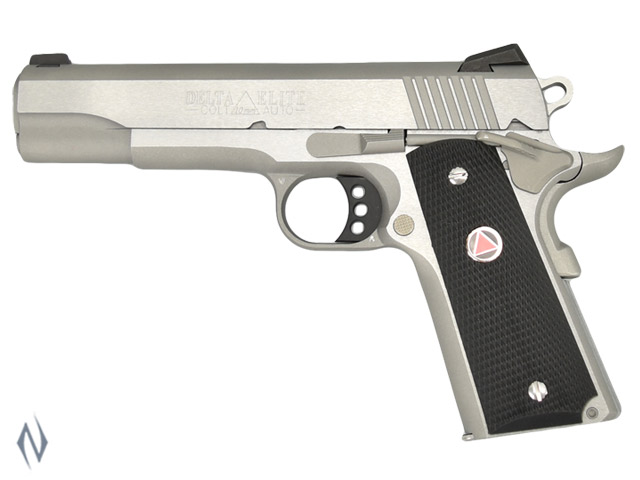COLT 1911 DELTA ELITE STAINLESS 10MM 127MM Image