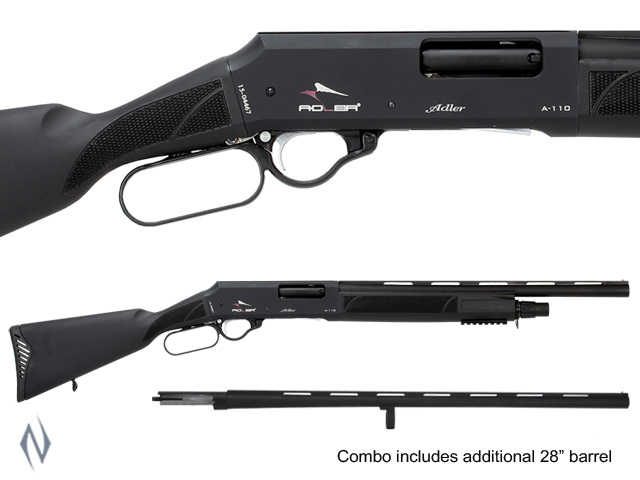 "ADLER A110 12G 20"" AND 28"" SYN COMBO LEVER ACTION SHOTGUN Image"