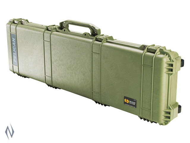 """PELICAN 1750 LONG CASE OD GREEN 50.5"""" INTERNAL Image"""