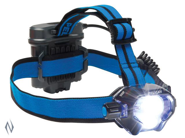 PELICAN HEADLAMP 2780 LED BLACK 430 LUM 4 X AA Image