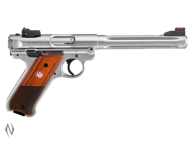 RUGER MKIV 22LR HUNTER STAINLESS 174MM Image