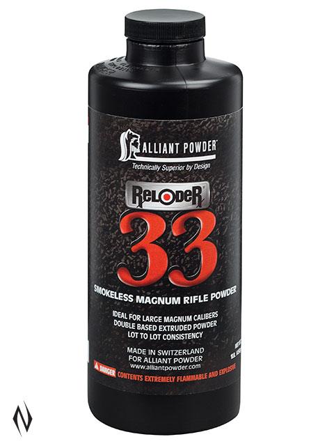 ALLIANT RELODER 33 1LB .454KG Image