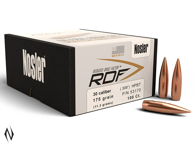 NOSLER RDF 308 175GR HPBT 100PK Image