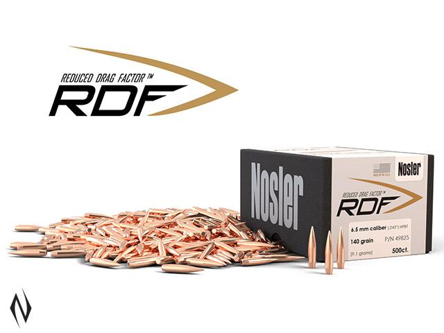 NOSLER RDF 6.5MM 140GR HPBT 500PK Image