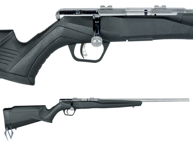 SAVAGE B22 22LR FVSS STAINLESS SYNTHETIC VARMINT 10 SHOT Image