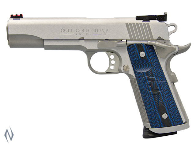 COLT GOLD CUP TROPHY STAINLESS 45 ACP 127MM Image