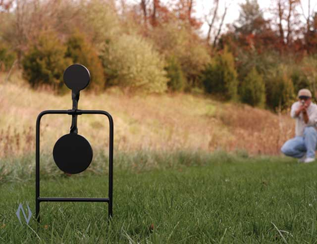 CALDWELL DOUBLE SPIN 44MAG PISTOL TARGET Image