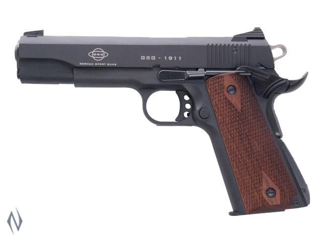 GSG 1911 WOOD 22LR 127MM 10 SHOT Image
