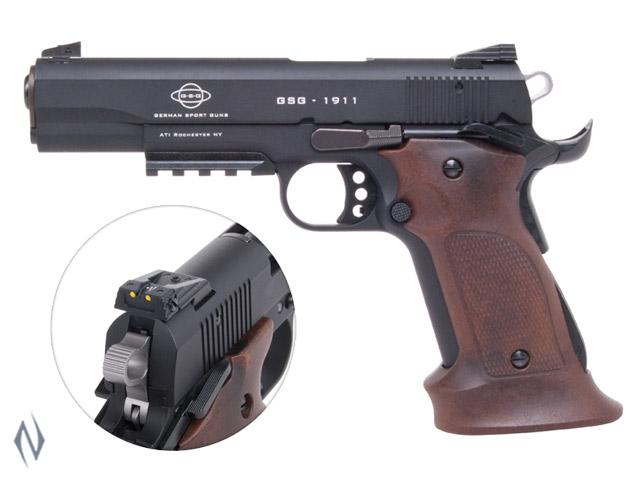 GSG 1911 TARGET AMBI 22LR 127MM 10 SHOT Image