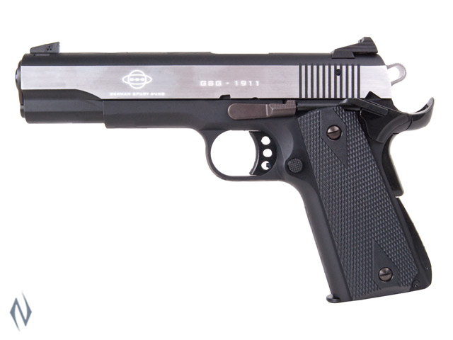 GSG 1911 STAINLESS 22LR 127MM 10 SHOT Image