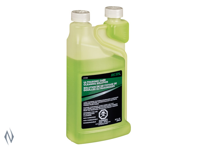 RCBS ULTRASONIC / ROTARY CASE CLEANING SOLUTION 32 OZ Image