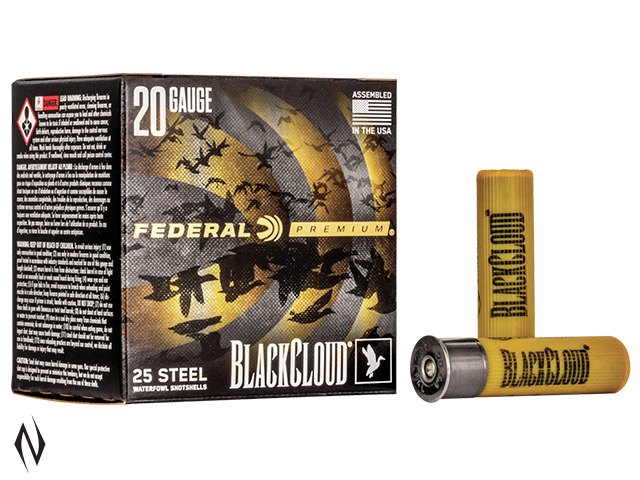 "FEDERAL 20G 3"" 28GR 2 BLACK CLOUD 1350FPS Image"