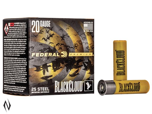 """FEDERAL 20G 3"""" 28GR 4 BLACK CLOUD 1350FPS Image"""