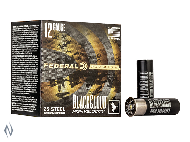 "FEDERAL 12G 3"" 32GR 4 BLACK CLOUD 1635FPS Image"