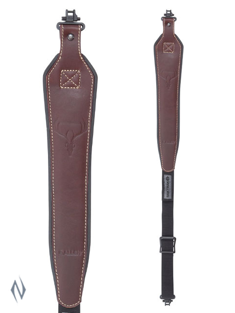 ALLEN BAKTRAK LEATHER HORNS SLING + SWIVELS Image