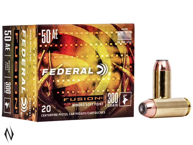 FEDERAL 50AE 300GR FUSION Image