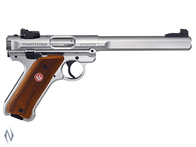 RUGER MKIV 22LR COMPETITION STAINLESS 174MM Image