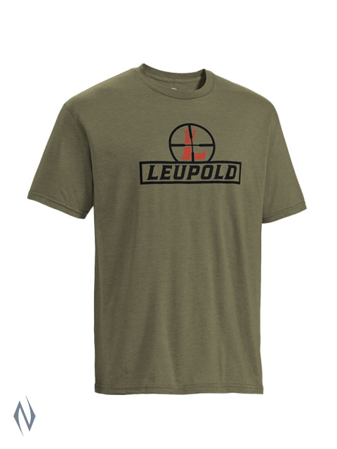 LEUPOLD YOUTH SS RETICLE T-SHIRT OD GREEN MED Image