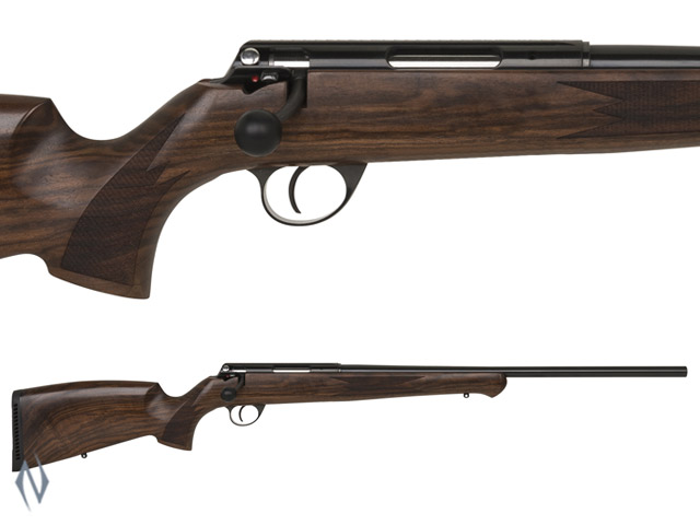 ANSCHUTZ 1771D 22 HORNET SINGLE SHOT GERMAN STOCK RIFLE Image
